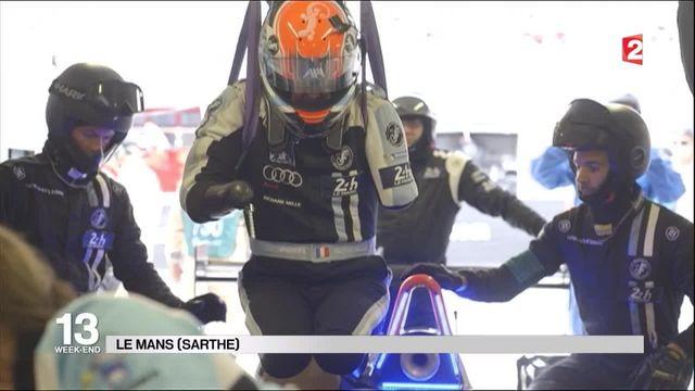 24 Heures du Mans : Frédéric Sausset, premier pilote quadri-amputé à prendre le départ