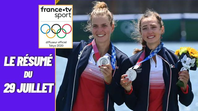 Retrouvez les meilleurs moments de la journée du 29 juillet, avec notamment les trois médailles d'argent récoltées par les Françaises.