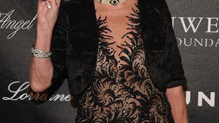 Ivana Trump, l'ex-femme du président américain, participe à un bal mondain, le 19 octobre 2015, à New York. (BRYAN BEDDER / GETTY IMAGES NORTH AMERICA / AFP)