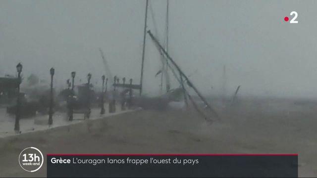 Ouragan Ianos : un bilan provisoire de deux morts en Grèce