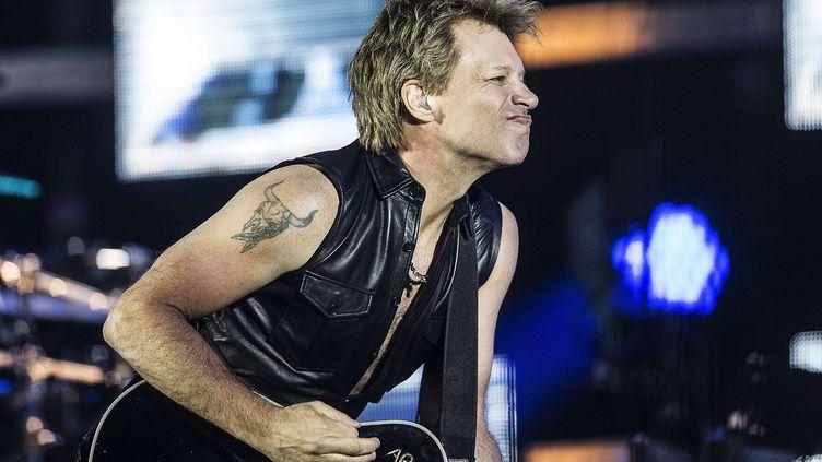 Jon Bon Jovi sur scène en 2013 à Copenhague  (Mogens Flindt/AP/SIPA)