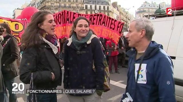 Grève des fonctionnaires : quels sont leurs salaires ?