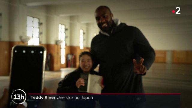 Judo : Teddy Riner, une star au Japon