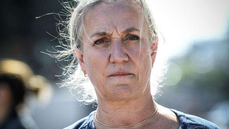 La pneumologue Irène Frachon, le 23 septembre 2019. (BERTRAND GUAY / AFP)