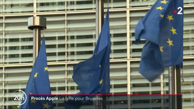 Procès Apple : la justice européenne annule l'amende record
