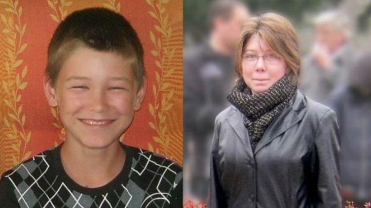 Michel 11 ans et Priscillia, 14 ans, ont disparu à Foug (Meurthe-et-Moselle). ( FRANCE TÉLÉVISIONS )