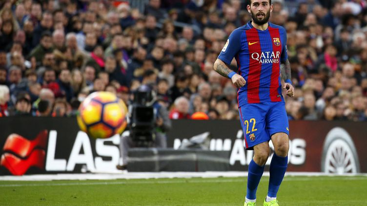 Saison terminée pour Aleix Vidal (FC Barcelone) (JOANVALLS/URBANANDSPORT / NURPHOTO)