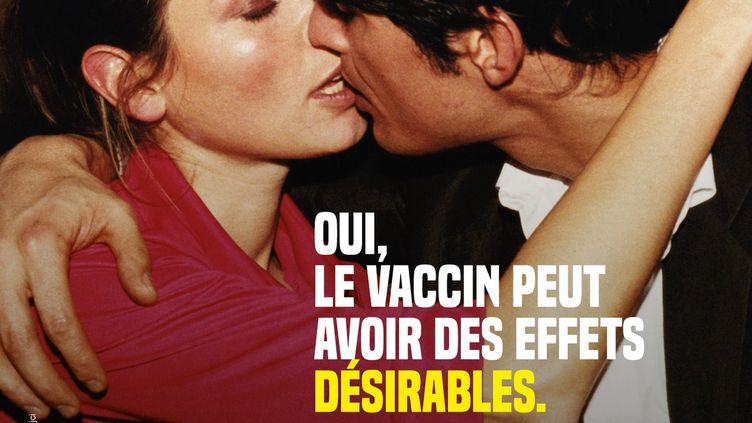 L'une des affiches de la campagne de communication de l'agence régionale de santé de Provence-Alpes-Côte d'Azur. (ARS PACA)
