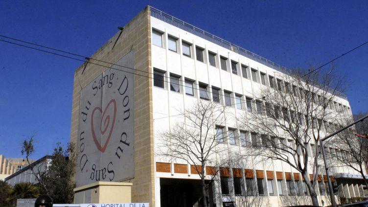 L'un des bâtiments de l'hôpital de la Conception, à Marseille (Bouches-du-Rhône), le 4 février 2011. (  MAXPPP)