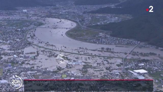 Japon : le typhon Hagibis a fait des ravages