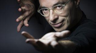 bernard Werber, écrivain, le 10 décembre 2015 à Paris. (JOEL SAGET / AFP)