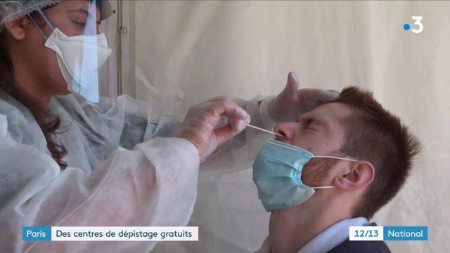 Coronavirus : à Paris, des tentes pour se faire dépister gratuitement et sans rendez-vous
