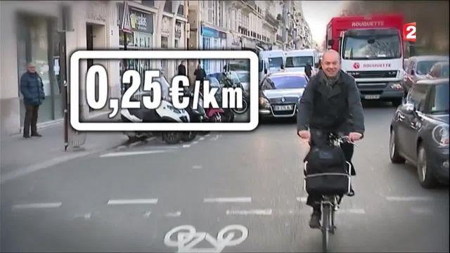 Transport : vers une indemnité de transport pour ceux qui vont au travail en vélo