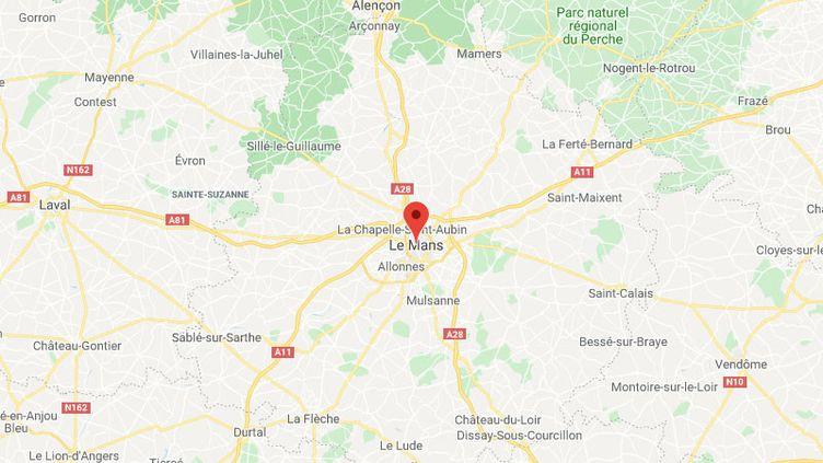 La ville du Mans dans la Sarthe. (GOOGLE MAPS / FRANCETV INFO)