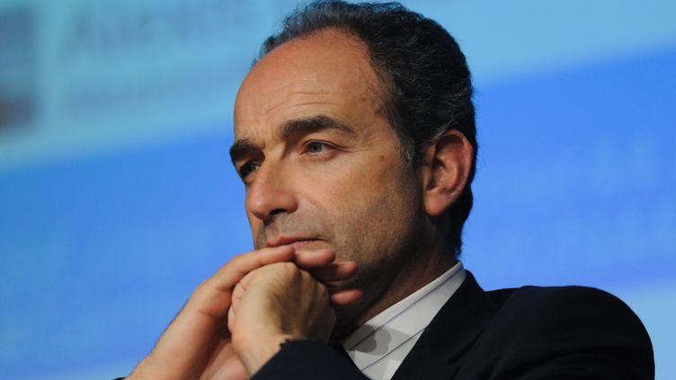Le président de l'UMP, Jean-François Copé, à Nantes (Loire-Atlantique), le 26 février 2014. (SEBASTIEN SALOM-GOMIS / SIPA)
