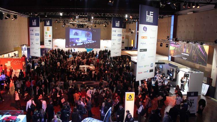 Le Salon du Web 10 en pleine ébullition (France 2 / photo Angel Herrero Lucas)
