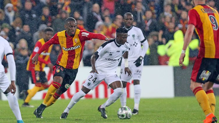 Le match entre Lens et le Paris FC est resté longtemps indécis  (COURBE / MAXPPP)