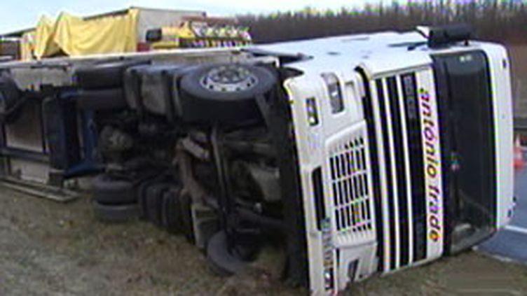 44 accidents, dont un mortel, se sont produits dans la nuit de dimanche à lundi sur les routes d'Alsace. (F2)
