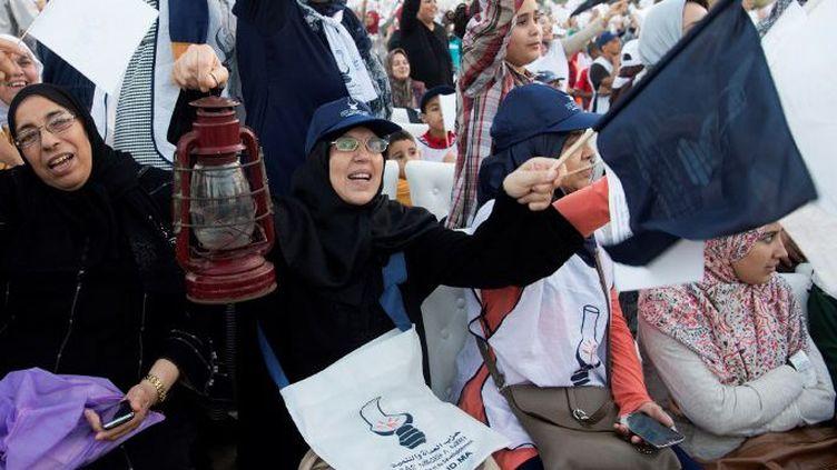 Les islamistes du PJD rempilent (FADEL SENNA / AFP)