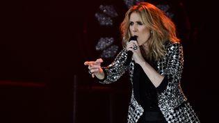 Céline Dion, le 4 juillet 2017 à Paris. (MARTIN BUREAU / AFP)
