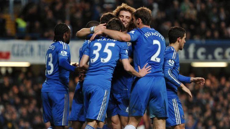 La joie des Blues (CARL COURT / AFP)