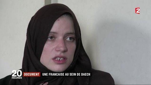 Une Française qui a rejoint l'Etat islamique en Syrie témoigne