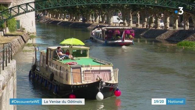 Loiret : zoom sur Montargis, la Venise du Gâtinais