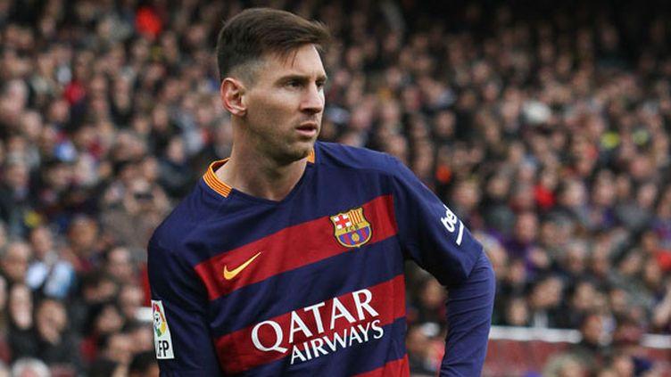 Le joueur argentin du Barca, Lionel Messi