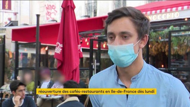 Déconfinement : le soulagement pour les restaurants d'Ile-de-France