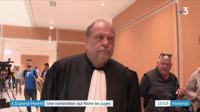 Remaniement : la nomination d'Éric Dupond-Moretti suscite les critiques