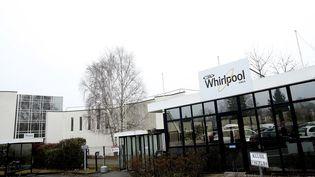 L'usine Whirlpool d'Amiens (Somme), le 24 janvier 2017. (FRANCOIS NASCIMBENI / AFP)