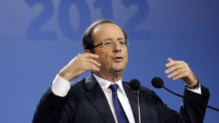 François Hollande est en tête des intentions de vote chez les enseignants (AFP)