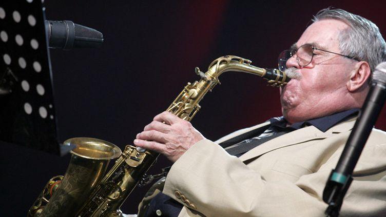 Phil Woods au festival Jazz à Marciac le 9 août 2005  (Michel Viala / PhotoPQR / La Dépêche du Midi)