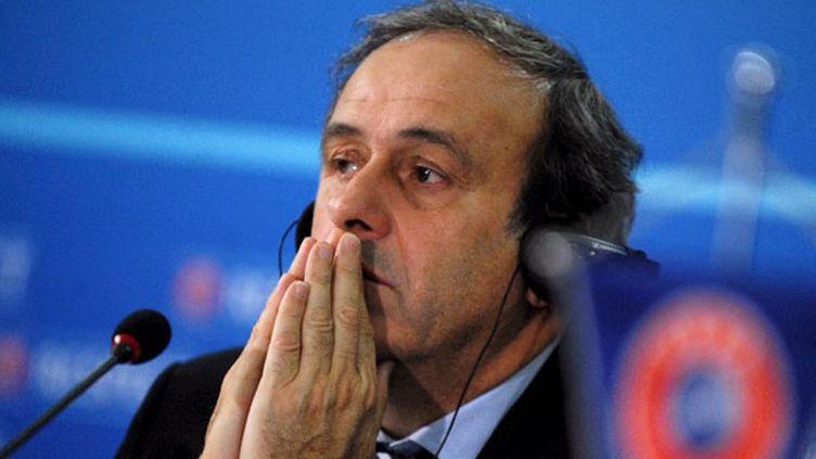 Michel Platini, le président de l'UEFA