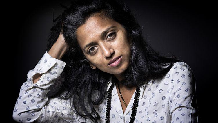 La romancière Nathacha Appanah, septembre 2016 (JOEL SAGET / AFP)