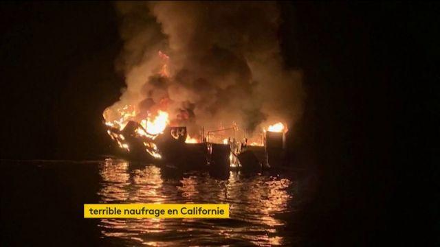 Etats-Unis : dramatique incendie d'un bateau de plongée en Californie