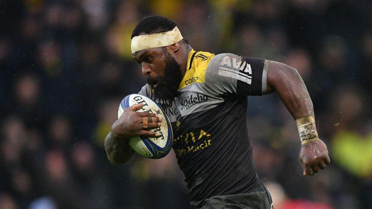 Levani botia manquera la fin de saison avec La Rochelle (XAVIER LEOTY / AFP)