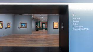"""Entrée la nouvelle galerie """"Françoise Cachin"""" du musée d'Orsay. (PATRICE SCHMIDT)"""
