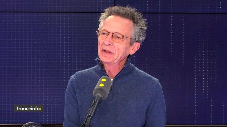 Patrice Leconte, invité sur franceinfo lundi 25 mars. (FRANCEINFO)