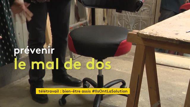 un fauteuil pour télétravailleurs