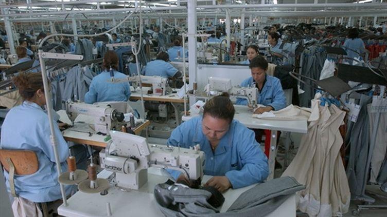 Usine textile en Tunisie (AFP/FETHI BELAID)