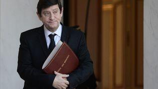 Patrick Kanner au palais de l'Elysée, à Paris, le 3 février 2016. (STEPHANE DE SAKUTIN / AFP)
