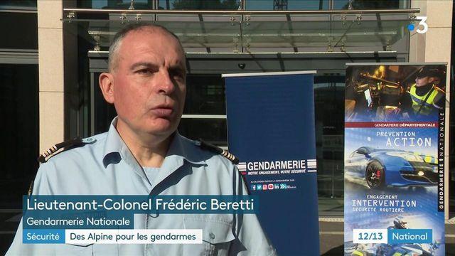 La gendarmerie va rouler en Alpine A110, un véhicule adapté pour ses missions