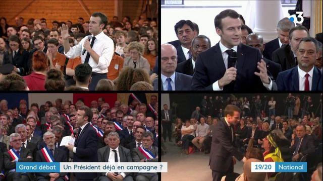 Grand débat : l'opposition dénonce une campagne pour les élections européennes