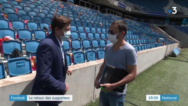 Football : le retour des supporters