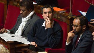 François Ruffin, le 10 octobre 2017 à l'Assemblée nationale. (JACQUES WITT / SIPA)