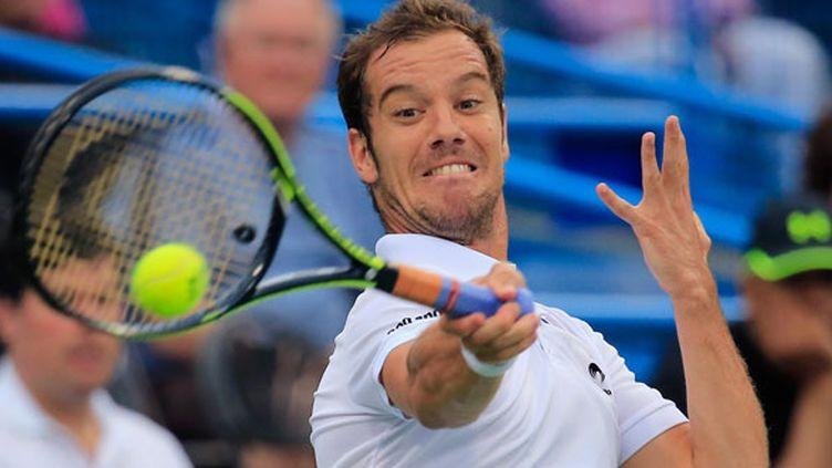 Le tennisman français Richard Gasquet