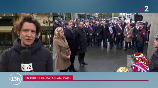 Attentat du 13-Novembre au Bataclan : vive émotion lors des commémorations