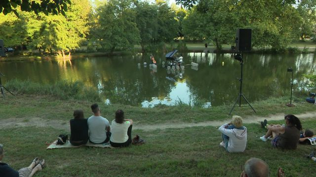 Bergerac: Concert flottant