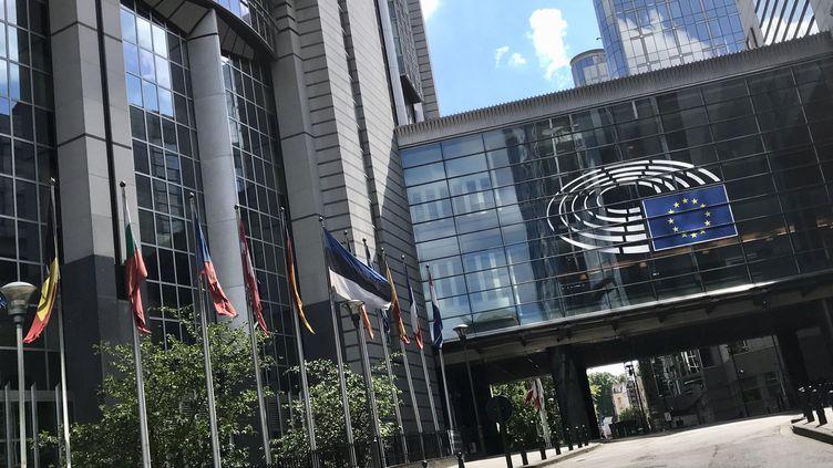 Le Parlement européen à Bruxelles. (NOEMIE BONNIN / RADIO FRANCE)